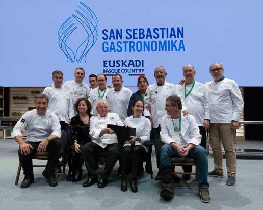 Hoomenaje a Juan Mari Arzak - San Sebastian Gastronomika 18 - ProfesionalHoreca