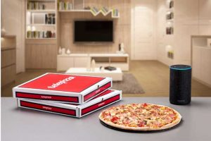 Amazon - Alexa- Telepizza - Profesionalhoreca