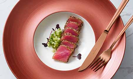 Copper Glow: la belleza del bronce en el plato