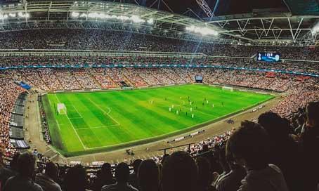 Partido de fútbol - profesionalhoreca