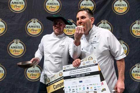 Vencedores del Campeonato de Pintxos de Euskal Herria, Jorge Otxoa y Félix Jiménez - El Mercao - Profesionalhoreca