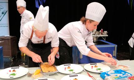 ganadores del V Certamen Nacional de Cocina - Proefsionalhoreca