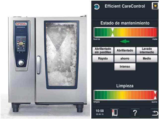 limpieza automática del horno SelfCookingCenter - Profesionalhoreca
