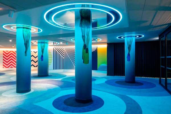 Lobby Hotel nhow Marseille - profesionalHoreca