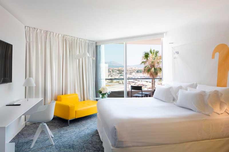 Habitación hotel nhow Marseille - profesionalHoreca