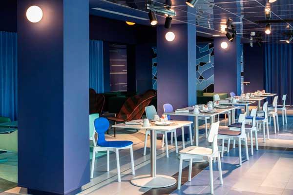 restaurante del hotel nhow Marseille - profesionalHoreca