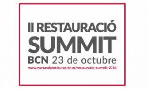 Logo del II Restauració Summit, de Marcas de Restauración. Profesional Horeca