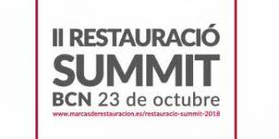 II Restauració Summit, nuevo punto de encuentro de la restauración organizada en Barcelona
