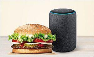 Echo - Alexa - profesionalhoreca Burger King