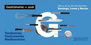 Gastrónoma 2018, el gran evento de la gastronomía de la Comunitat Valenciana, será más profesional e internacional