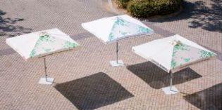 Los parasoles que reducen la contaminación