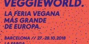 Vuelve a Barcelona Veggie World, la mayor feria vegana de Europa