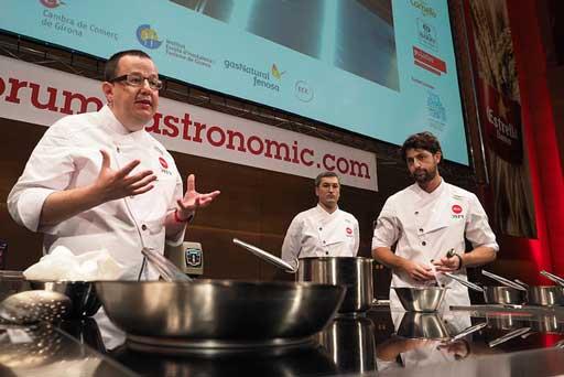 Chefs en el Forum Gastronomic Girona 2017 - Profesionalhoreca