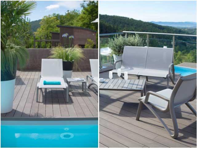 Tumbonas y sillas Sunset - Grosfillex - ProfesionalHoreca