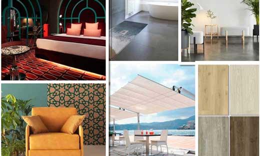 Visto en InteriHotel: platos de ducha personalizados, parasoles de diseño y más novedades