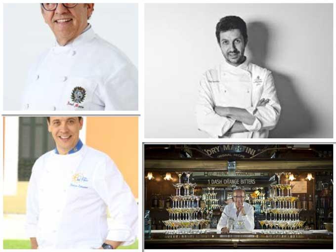 José María Ruiz, Iván Cerdeño, Francis Paniego y Javier de las Muelas, Profesionalhoreca, Premios Nacionales Hostelería 2018