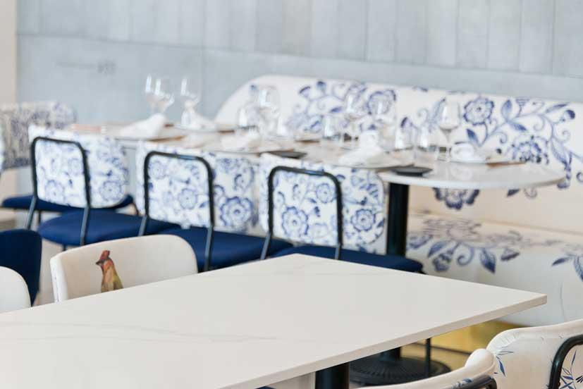 Mesas restaurante Palau Alameda . Profesionalhoreca