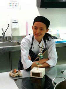 La cocinera de origen chino Shuyn Chen