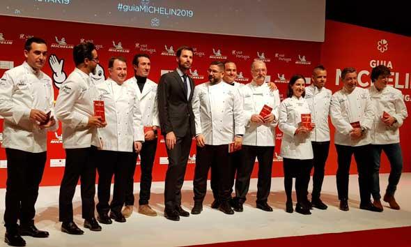 chefs de con tres estrellas en la Guía Michelin de España y Portugal 2019 - ProfesionalHoreca
