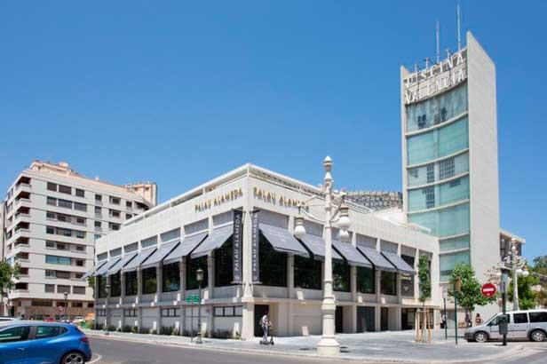 Fachada del Palau Alameda - profesionalhoreca
