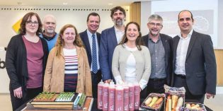 Pan con tomate en un segundo y otros premios de Mercabarna Innova