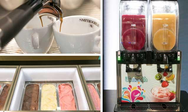 café - helados - feria Host Milano