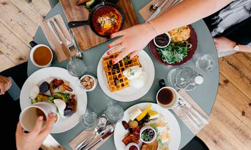 mesa - restaurante - comida - profesionalhoreca