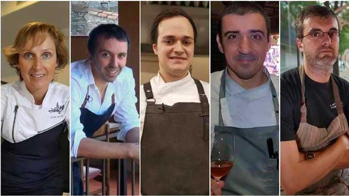 Los cinco finalistas al premio Cocinero 2018 Fòrum Gastronòmic - ProefsionalHoerca