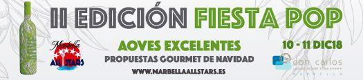 profesionalhoreca Fiesta POP Marbella All Stars