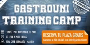 4ª jornada formativa de Gastrouni Training Camp en Madrid