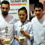 Las tapas ganadoras de los concursos nacional y mundial Ciudad de Valladolid