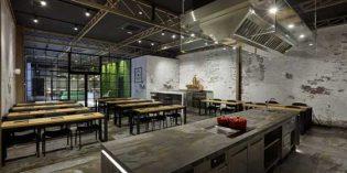 El look industrial de la escuela de hostelería Pilsa Educa
