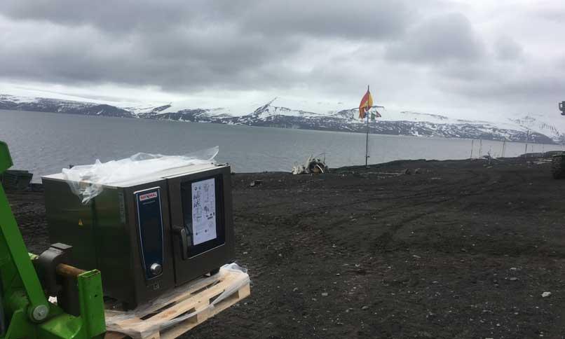 horno SelfCookingCenter de Rational - Antártida - profesionalhoreca