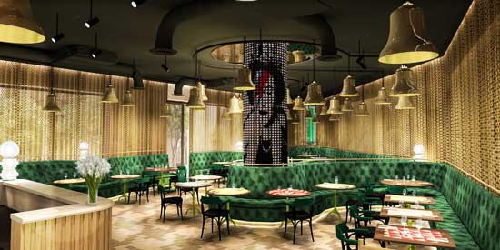 Hotel Nhow London - restaurante - profesionalhoreca