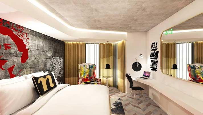 Hotel Nhow London - habitación - profesionalhoreca