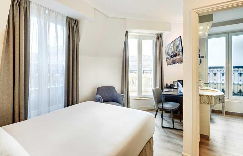 hotel Sercotel Europa, habitación, ProfesionalHoreca