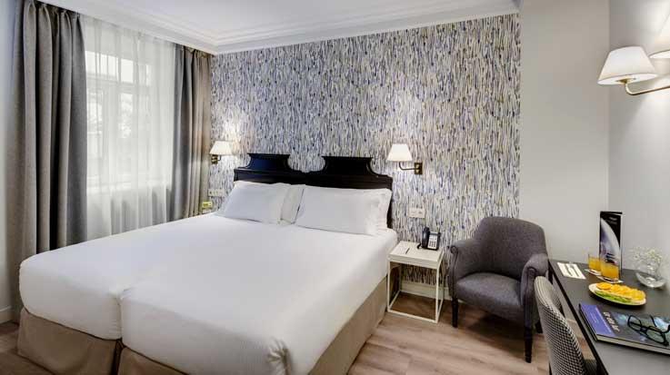 Profesionalhoreca, hotel Sercotel Europa, habitación