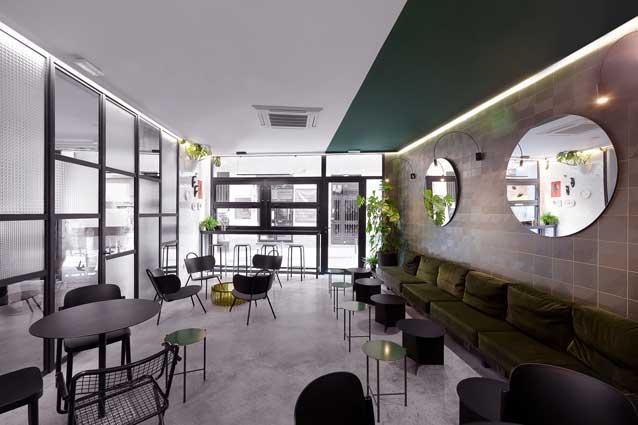Hostel 2010, lobby, ProfesionalHoreca