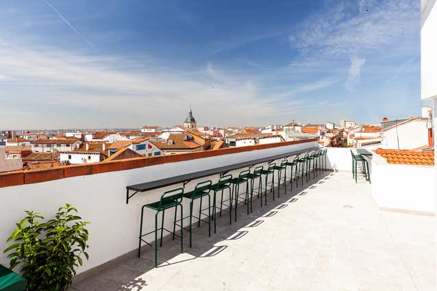 hostel 2060, terraza, ProfesionalHoreca