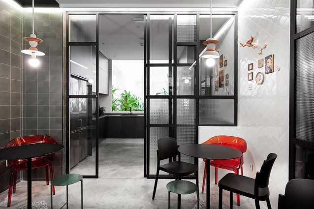 Hostel 2060, cocina, profesionalhoreca