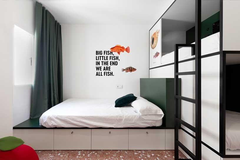 Profesionalhoreca, Habitación del 2060 The Newton Hostel