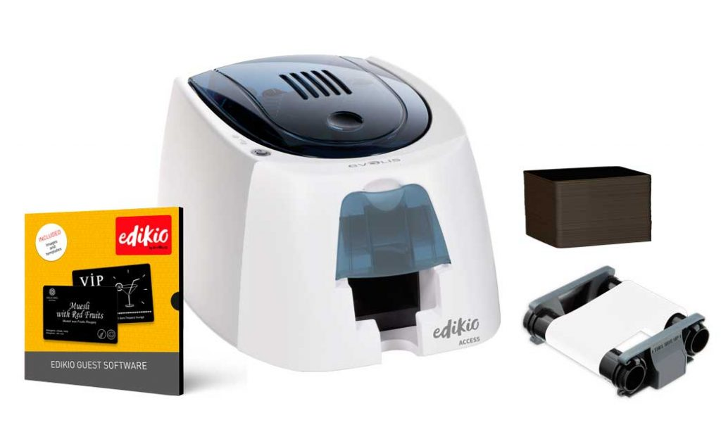 sistema de impresión de tarjetas Edikio Guest, profesionalHoreca