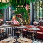 El interior de Raimunda, el restaurante del Palacio de Linares