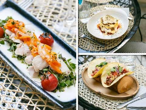 platos del restaurante Raimunda + ProfesionalHoreca