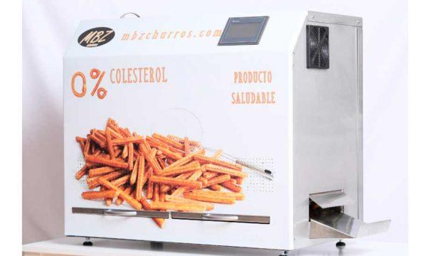 La máquina que hace churros al instante, sin humos ni olores