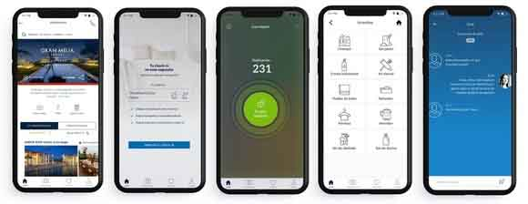 aplicación móvil MeliáApp, Profesionalhoreca