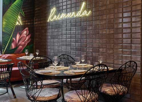 El Interior De Raimunda El Restaurante Del Palacio De Linares