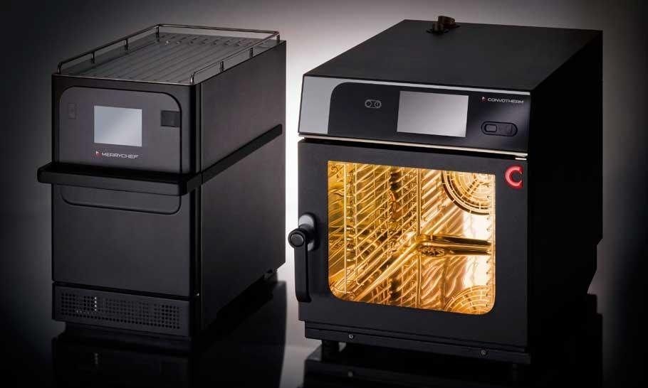 Profesionalhoreca, el horno de cocción acelerada Merrychef  y el horno mixto Convotherm en su versión mini, de Welbilt