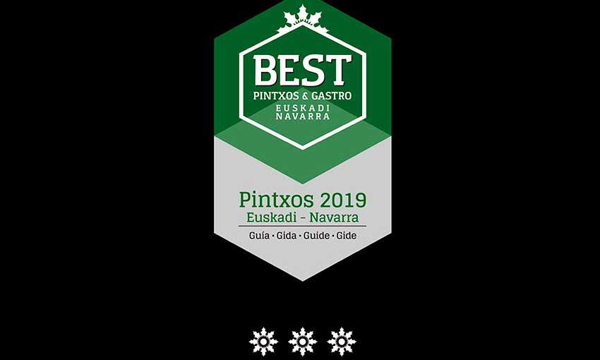 Profesionalhoreca, guía Best Pintxos 2019