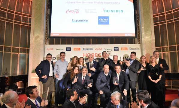 Profesionalhoreca, los premiados en los Horeca New Business Models Adwards 2019